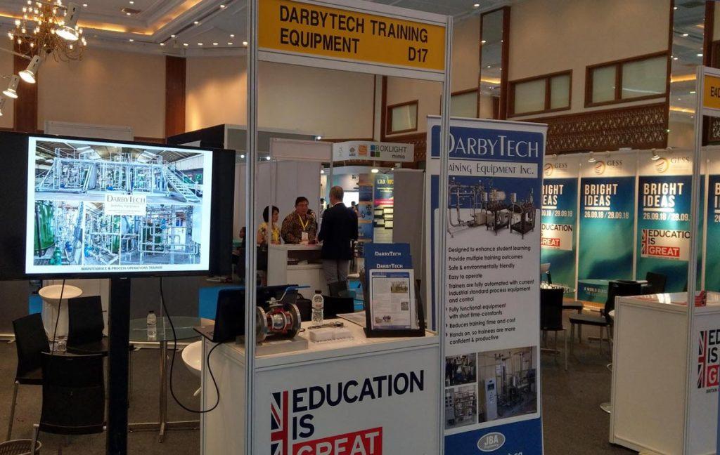 DarbyTech in the UK pavilion